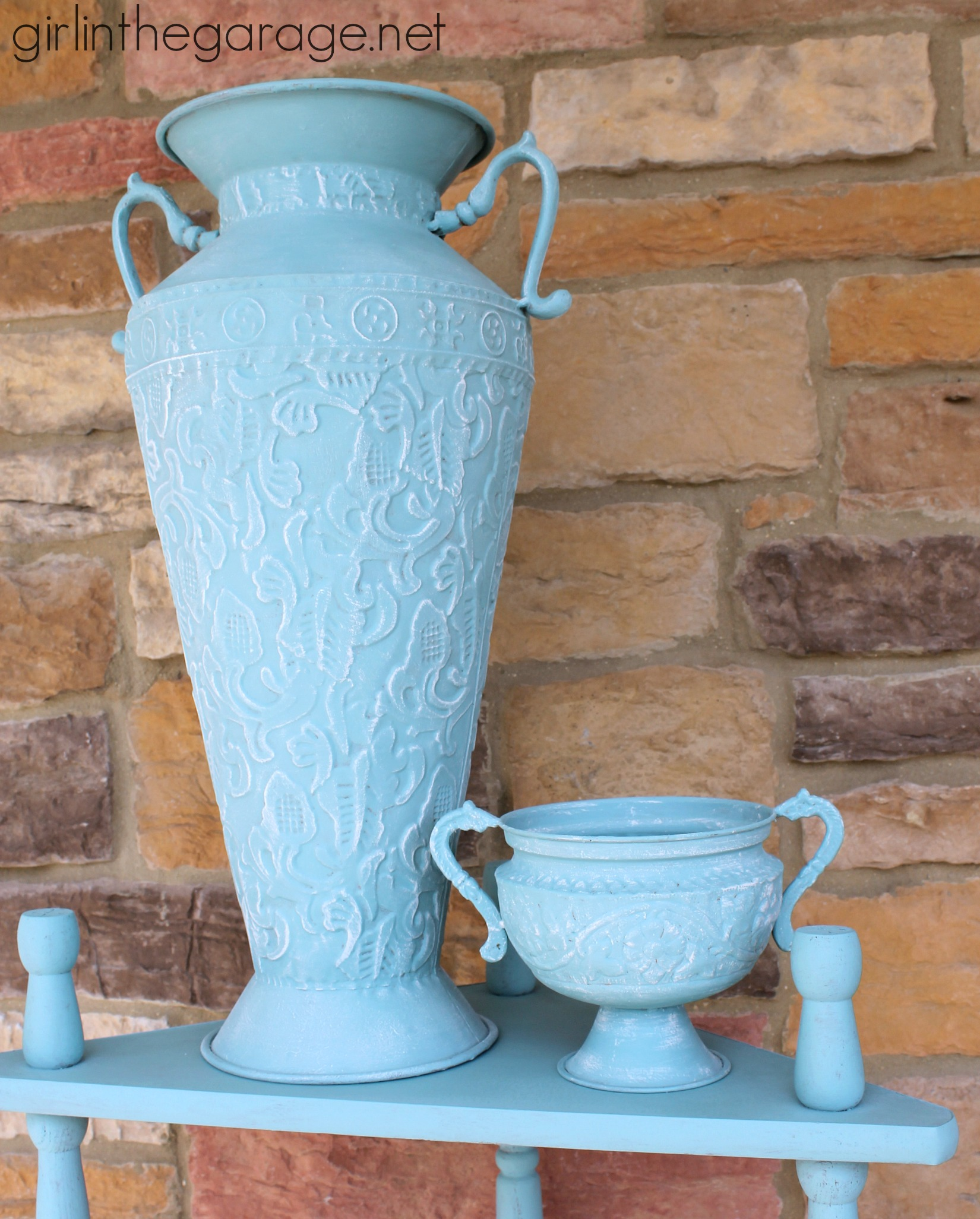 Shades Of Blue Chalk Paint Aubusson And Provence Girl