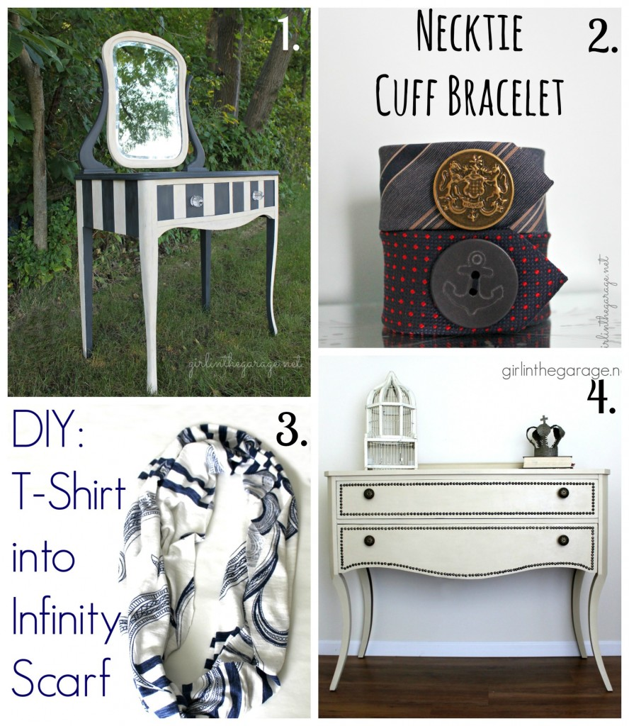 Favorite DIY Projects by Girl in the Garage (and get to know me better!)