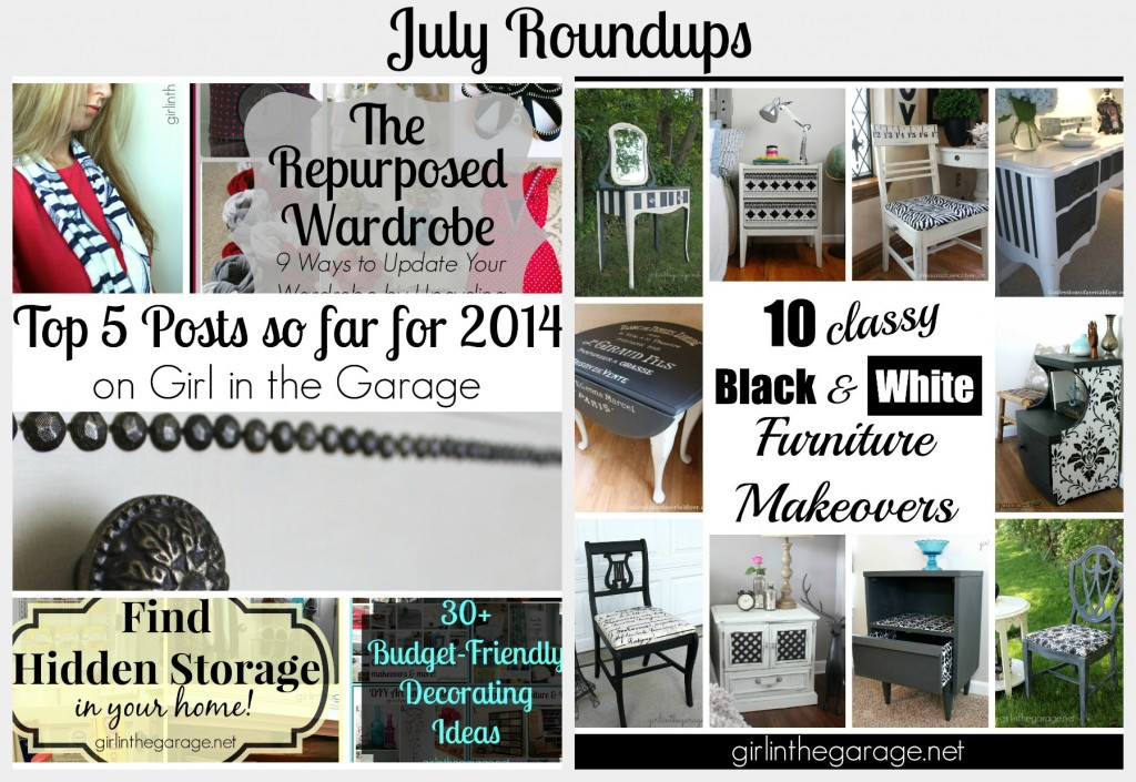 July Roundups - girlinthegarage.net