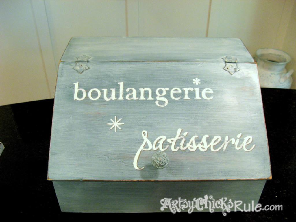 Bread Box Makeover - Artsy Chicks Rule