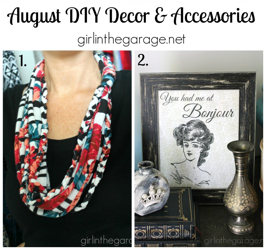 DIY Decor and Accessories - girlinthegarage.net
