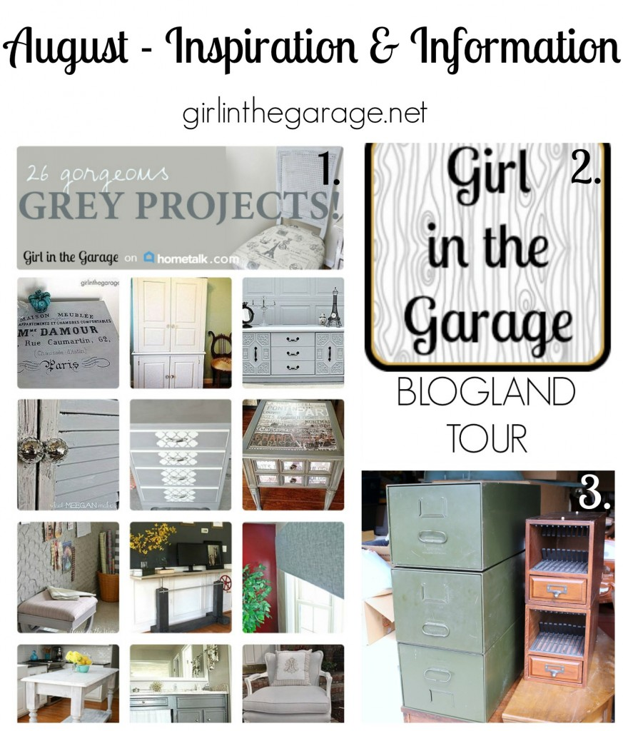 Inspiration and Information - girlinthegarage.net