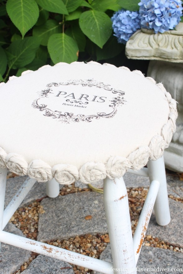 Stool Makeover - Confessions of a Serial Do-It-Yourselfer
