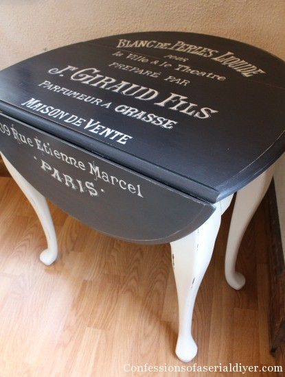 Table Makeover - Confessions of a Serial Do-It-Yourselfer