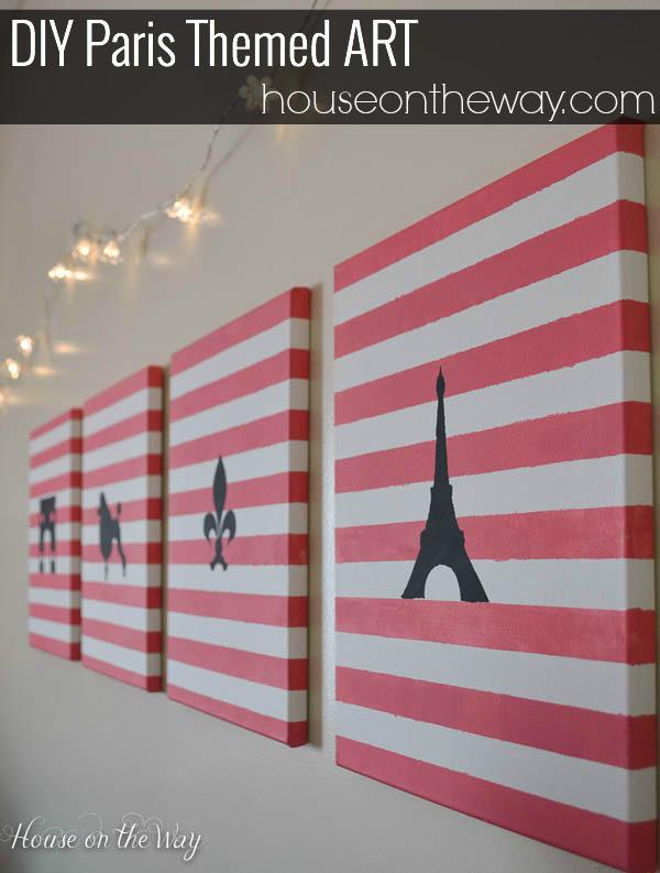 DIY Paris Art - House on the Way