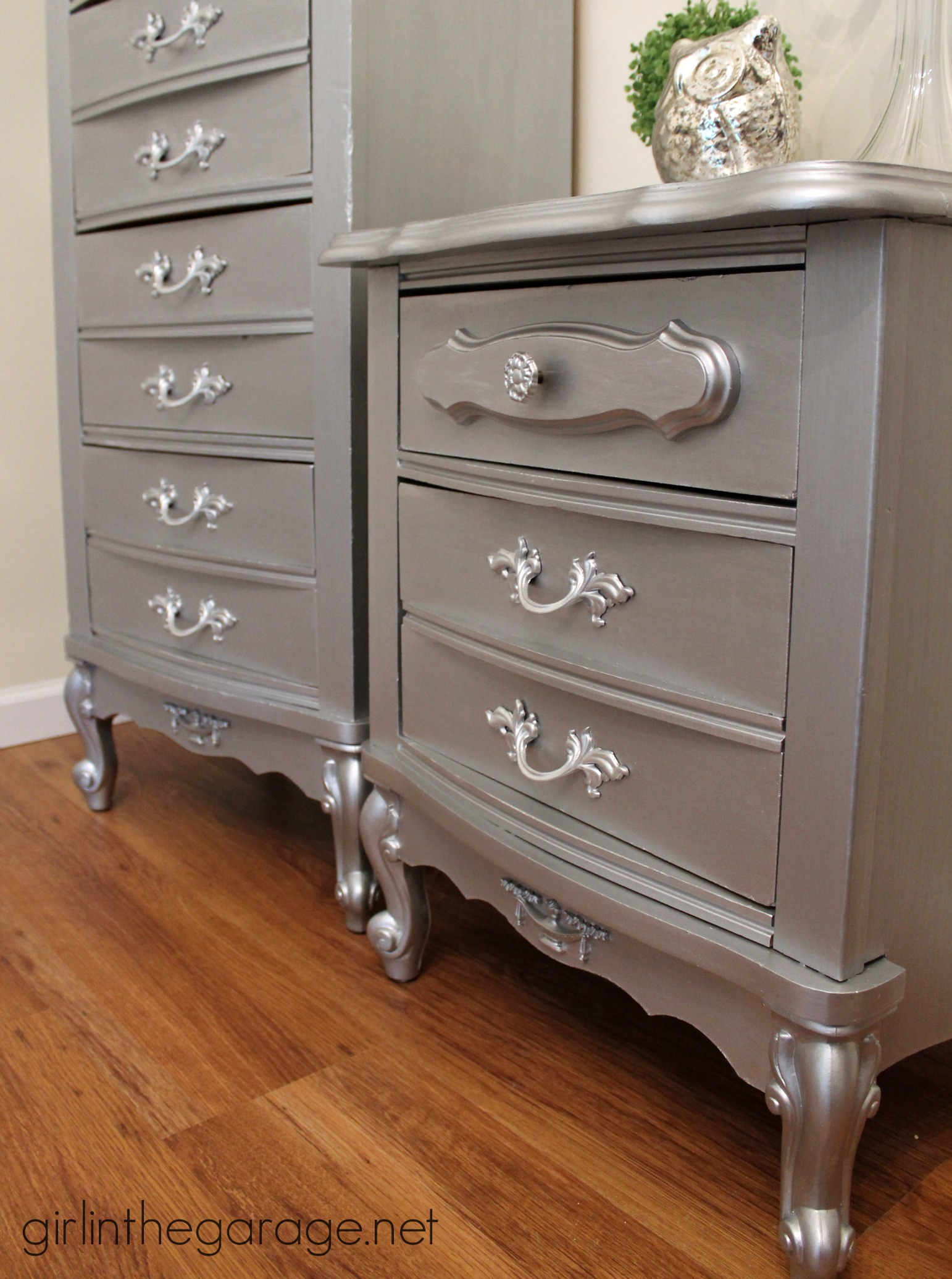 Top 10 popular diy projects and posts of 2014 girl in for Painting designs on wood furniture
