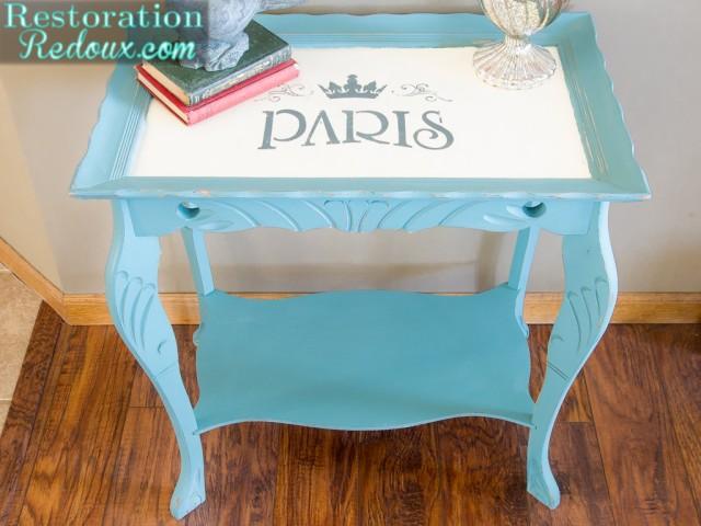Parisian Side Table - Restoration Redoux