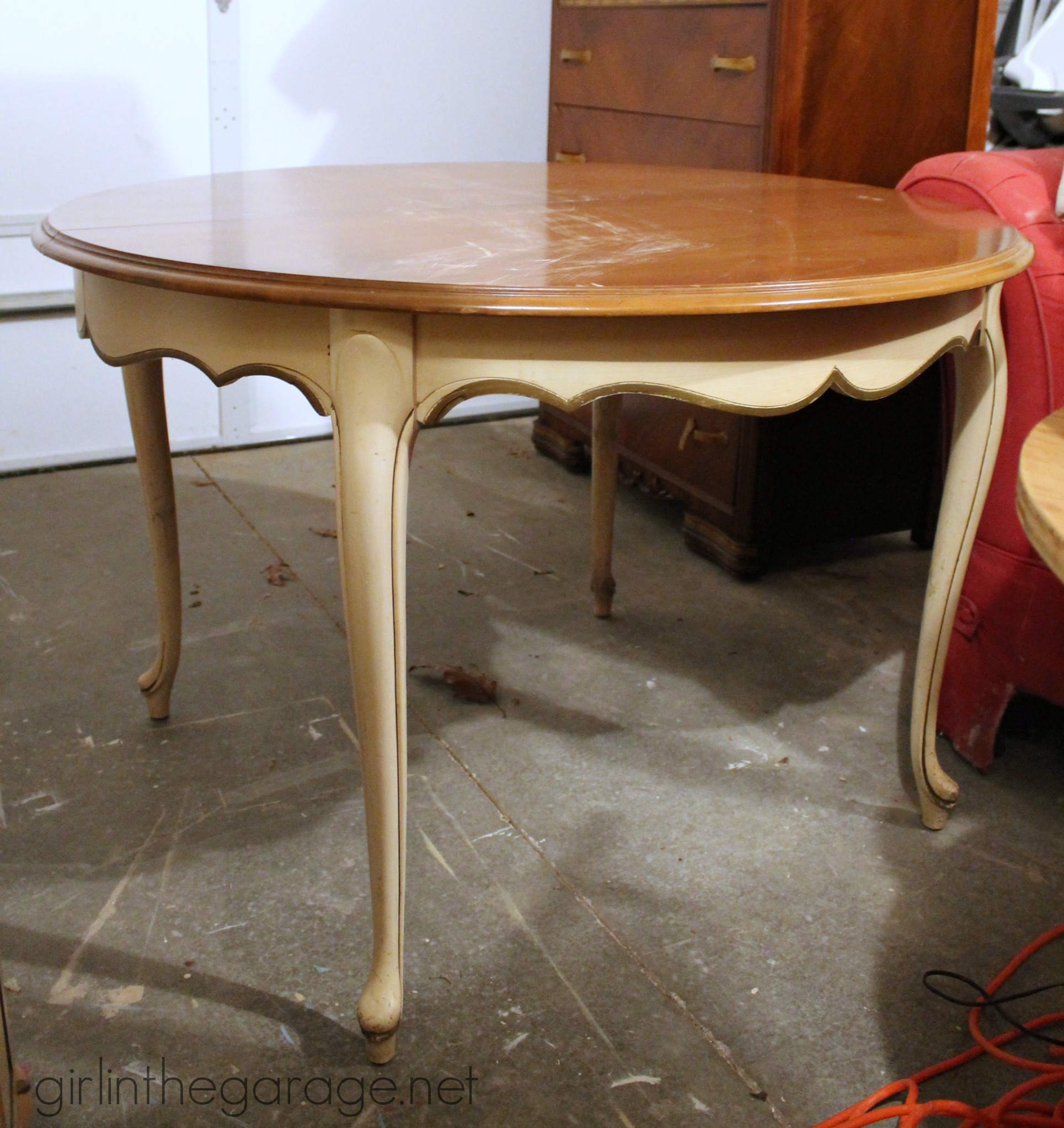 IMG_4181 French Provincial Dining Table