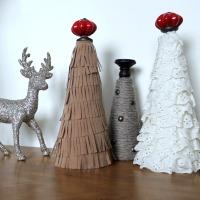 Fringe DIY Christmas Tree