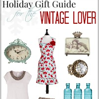 Holiday Gift Guide for the Vintage Lover