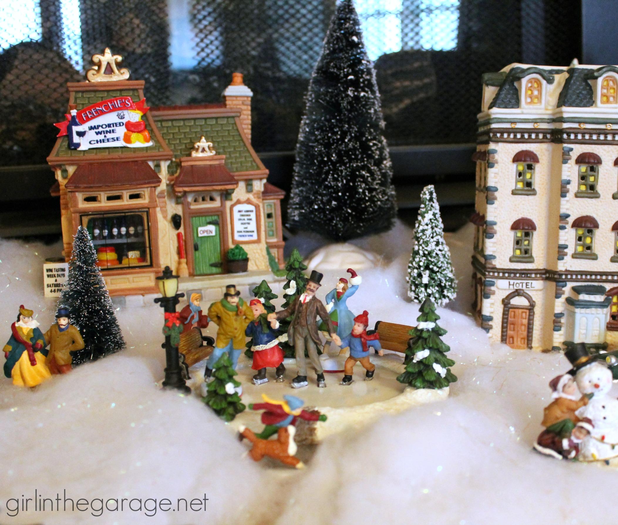 img_4387 christmas village ice skating rink - Christmas Village Ice Skating Rink