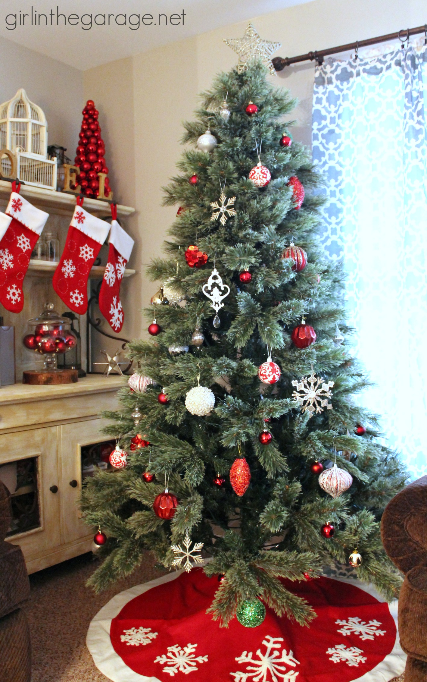 Christmas Home Tour 2014 {Home for the Holidays}