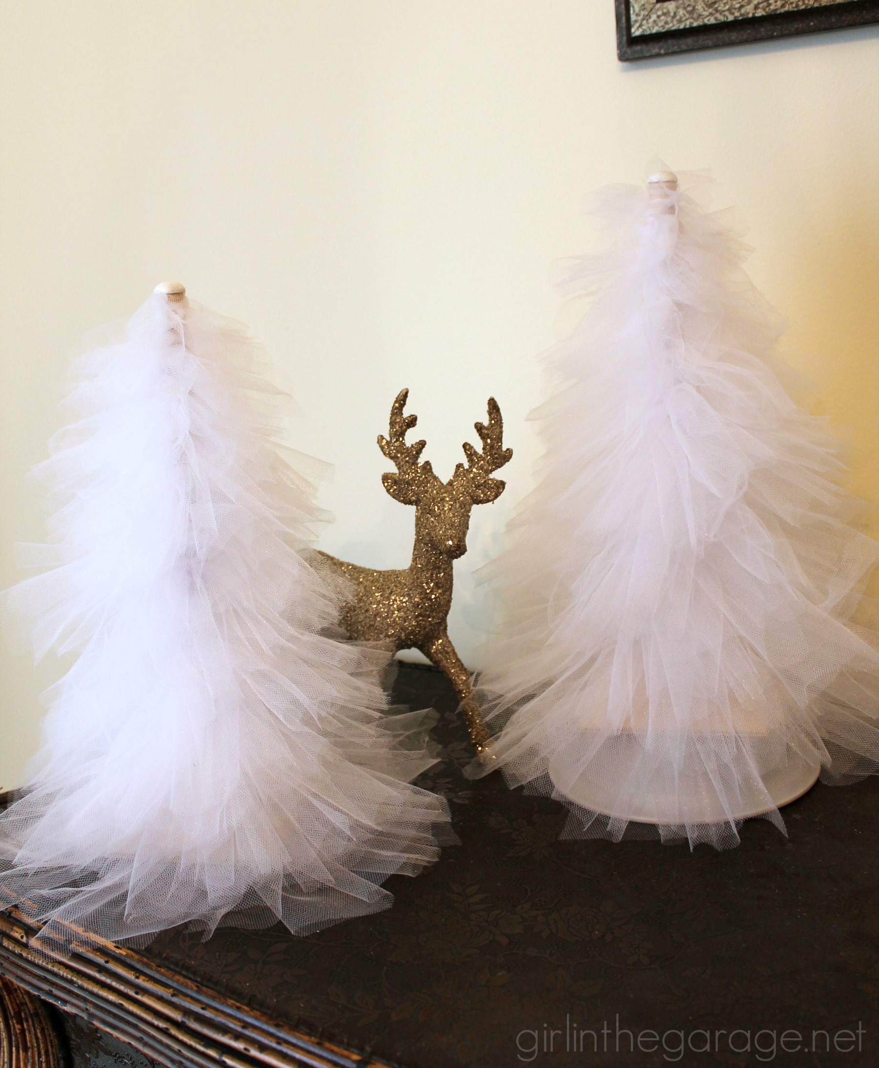 DIY Tulle Trees | Girl in the Garage®