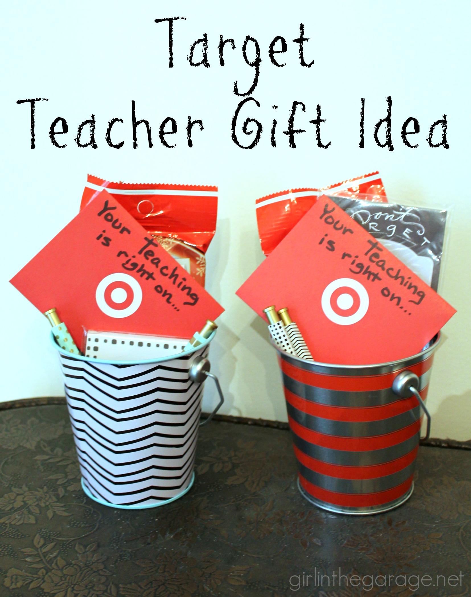 Easy Teacher Gift Idea | Girl in the Garage®
