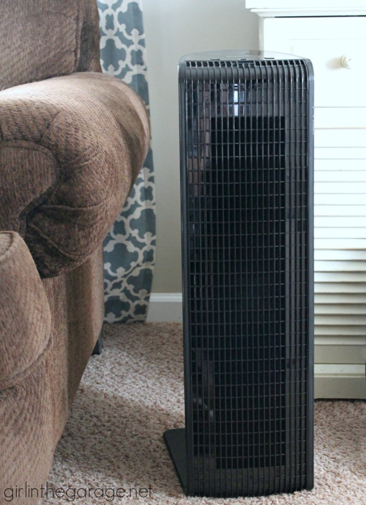 Learn the benefits of owning a Holmes Smart Air Purifier with WeMo technology - and enter to win one for yourself!  Dec. 26, 2014 - Jan. 2, 2015.  girlinthegarage.net