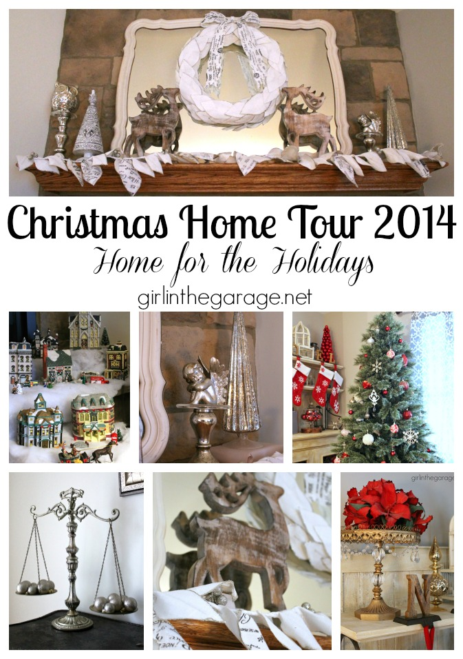 2014 Christmas home tour from Girl in the Garage. Part of the Home for the Holidays tour group.  girlinthegarage.net