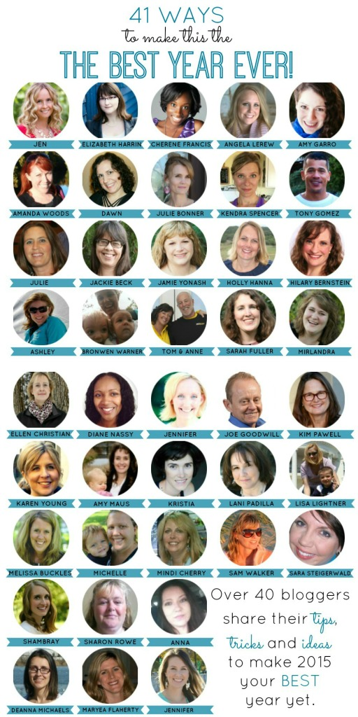 40+ bloggers teach you how to make 2015 the best year ever