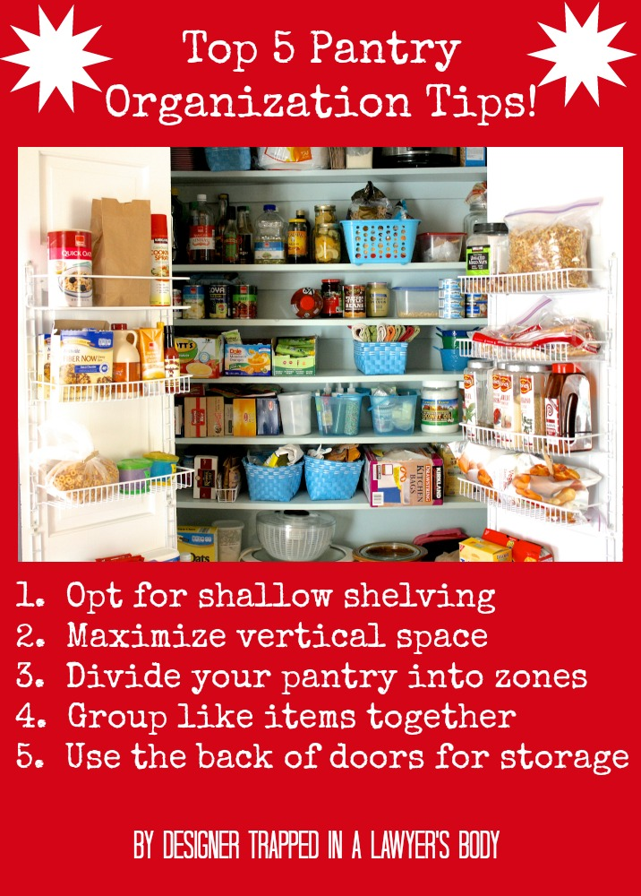 30 Kitchen Pantry Cabinet Ideas For A Well Organized Kitchen: 30 Clever Ideas To Organize Your Kitchen
