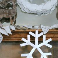 Sparkle Snowflake Craft