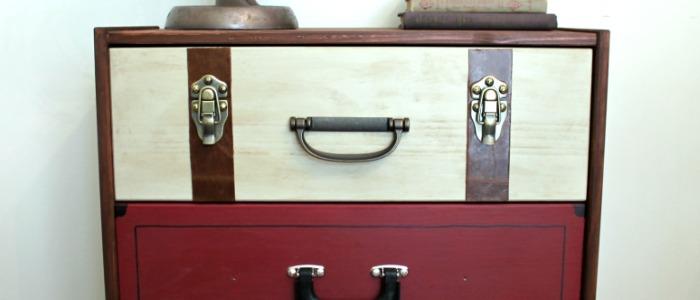 Suitcase Dresser – IKEA RAST Hack