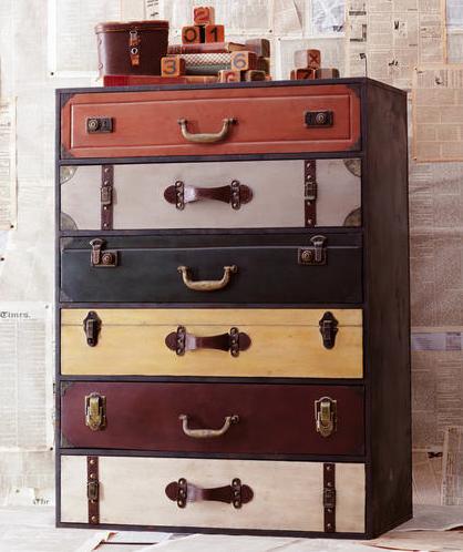 World Market Trenton Suitcase Chest