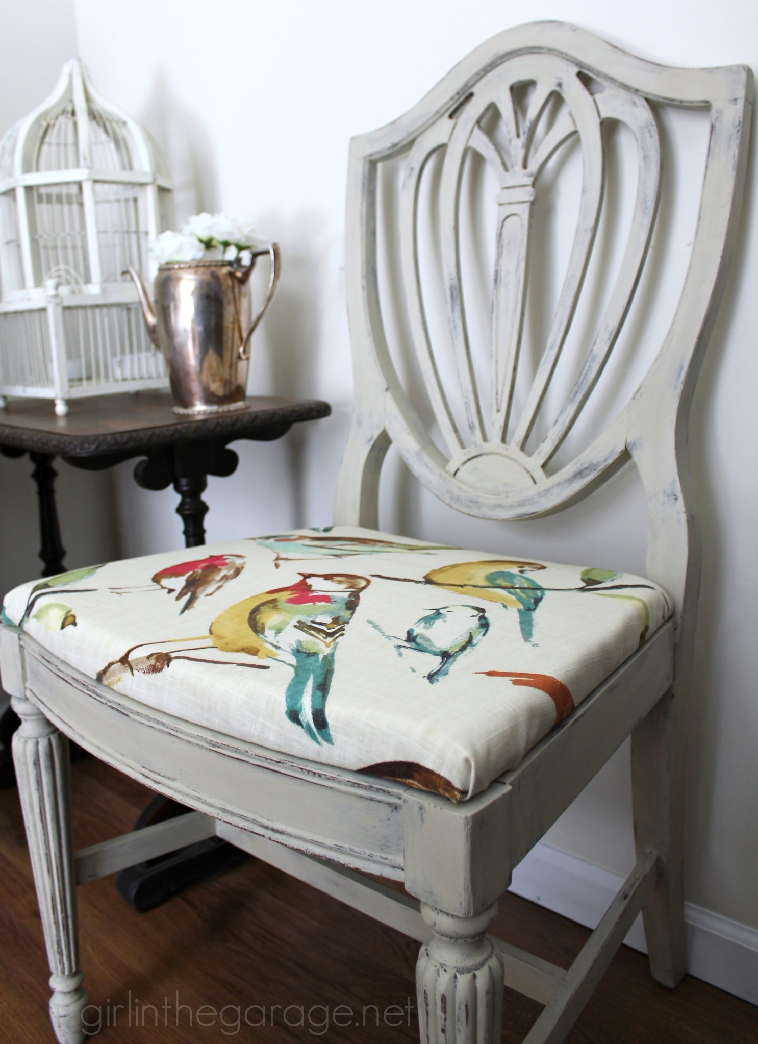 Chalk Paint Antique Chairs