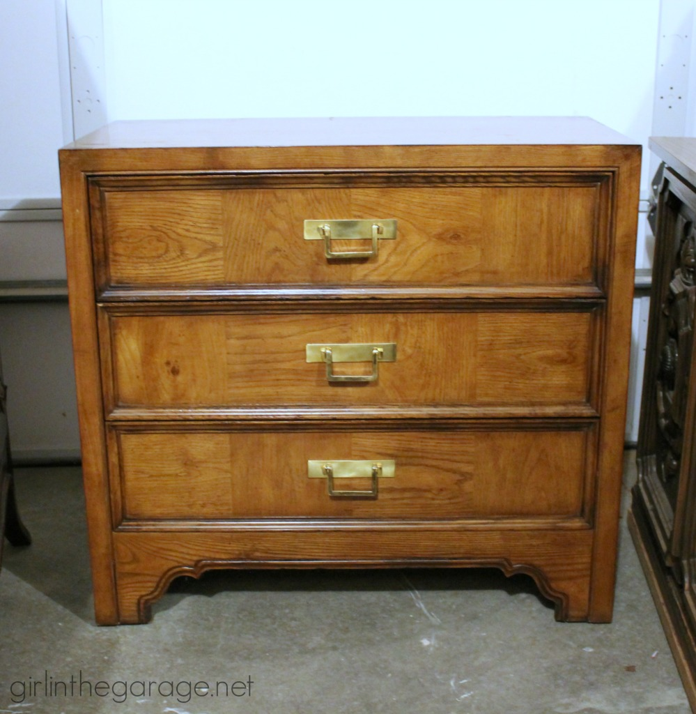 Tresure Hunting 9: Unique treasures and fantastic furniture I've found while thrifting lately.  girlinthegarage.net