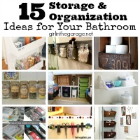 15 Storage and Organization Ideas for Your Bathroom
