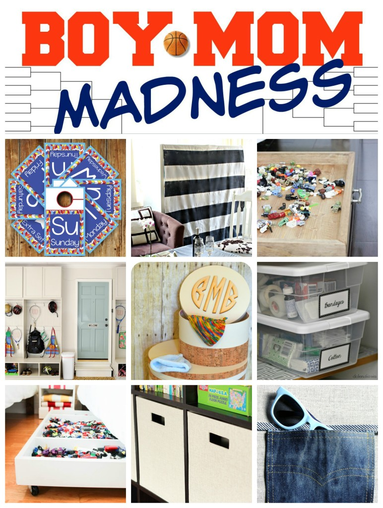 Kids' Storage and Organization Ideas - Part of Boy Mom Madness week.  girlinthegarage.net