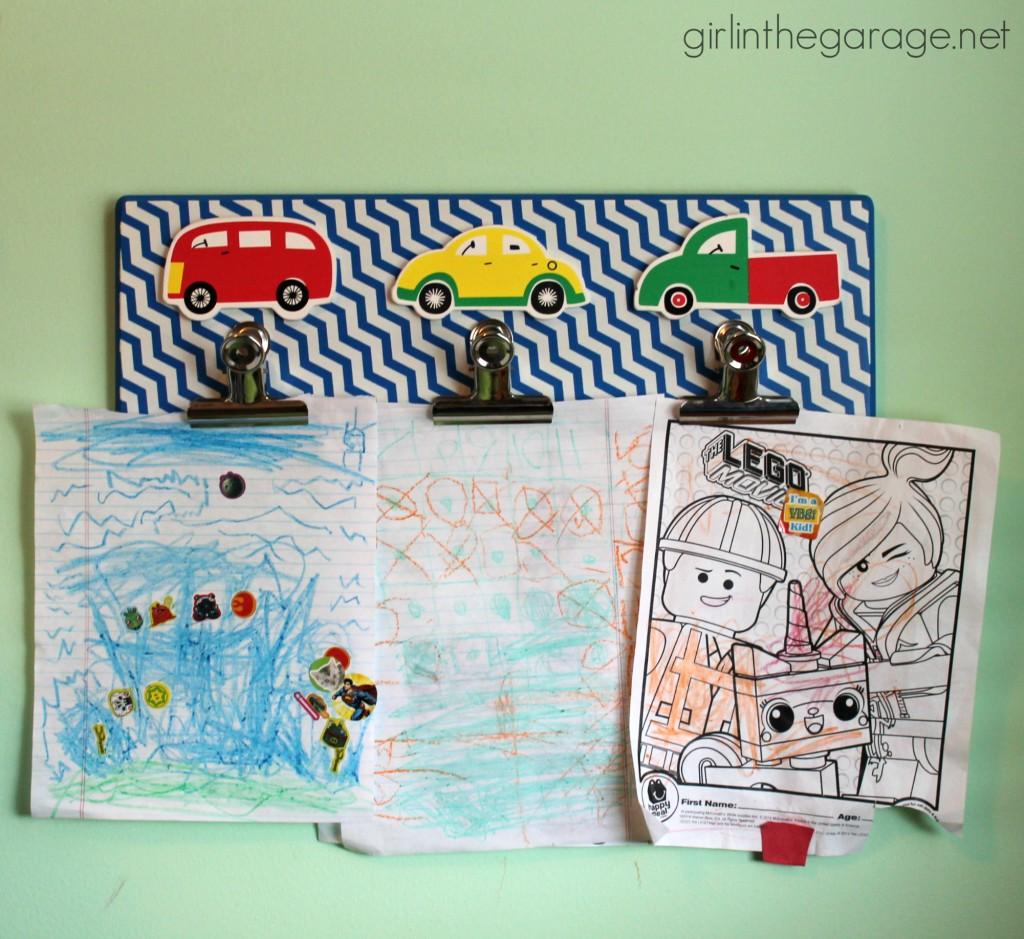Kids' Storage and Organization Ideas - girlinthegarage.net