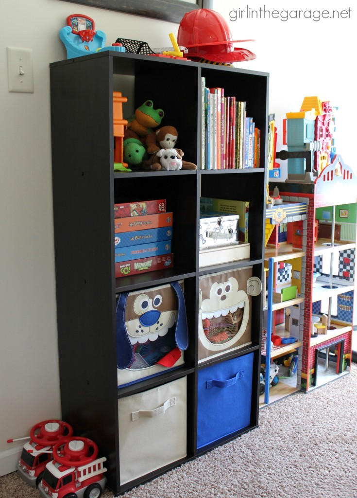Kids' Storage and Organization Ideas - girlinthegarage.net