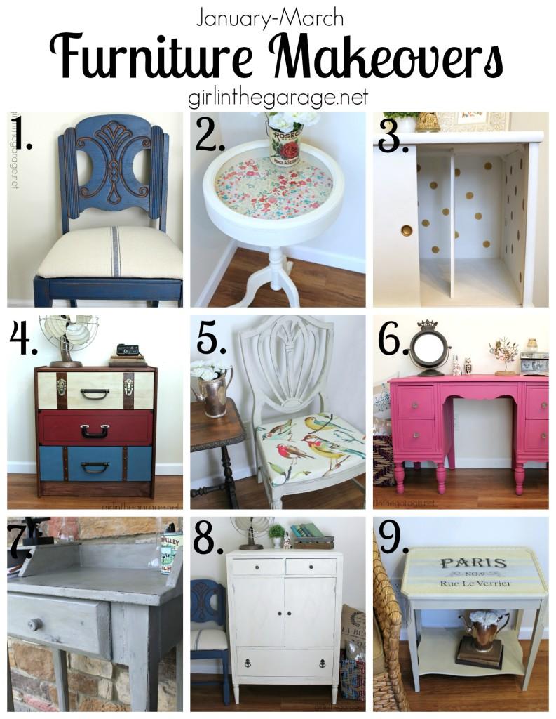 Furniture Makeovers - girlinthegarage.net