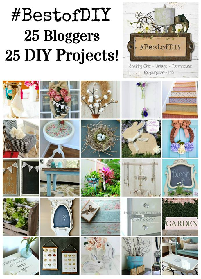 "Bloggers ""Best of DIY"" Showcase - see 25 awesome DIY projects!"