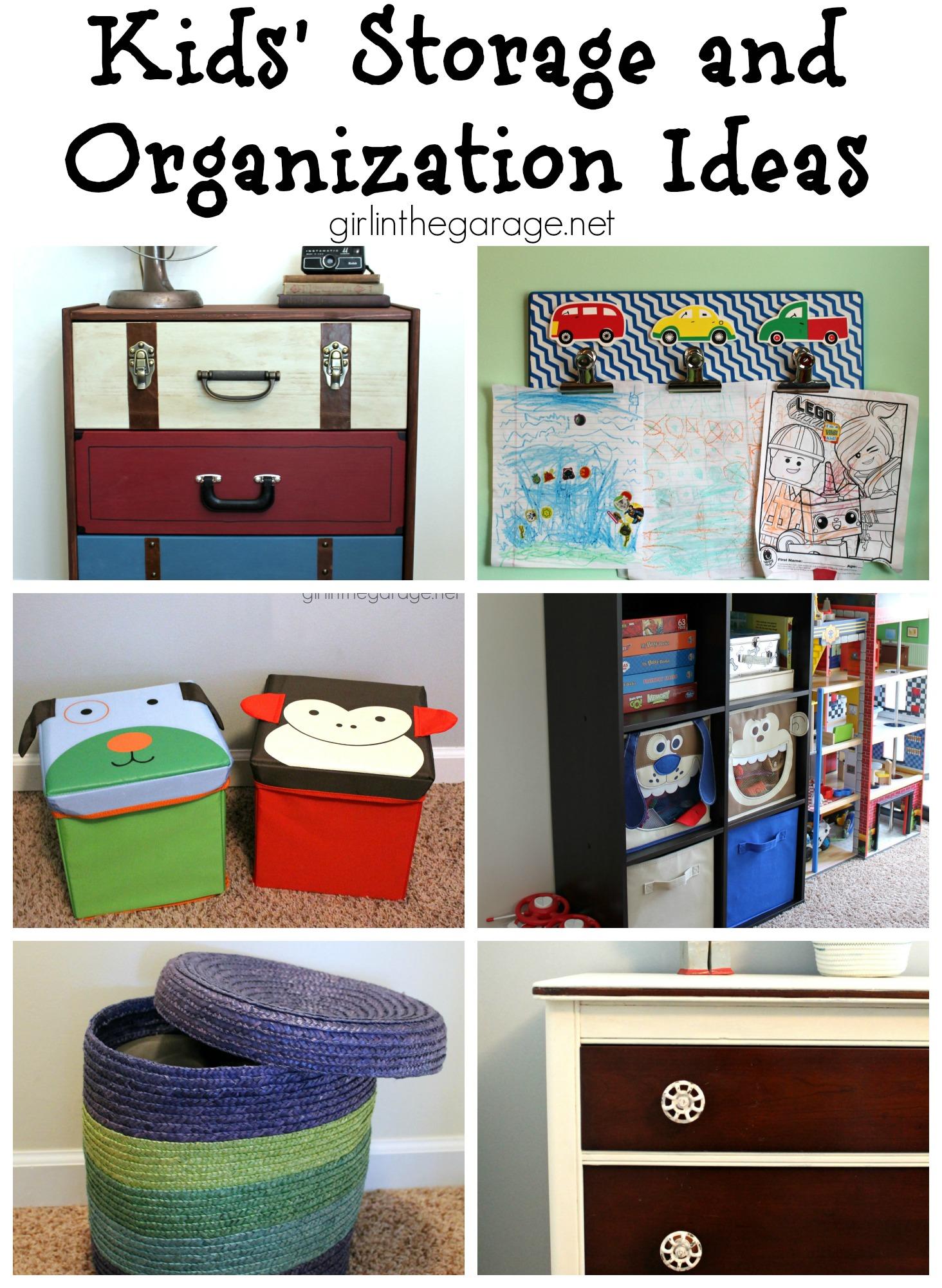 Kids 39 Storage And Organization Ideas Girl In The Garage
