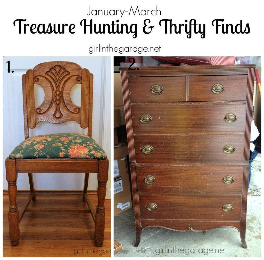 Treasure Hunting and Thrifty Finds - girlinthegarage.net