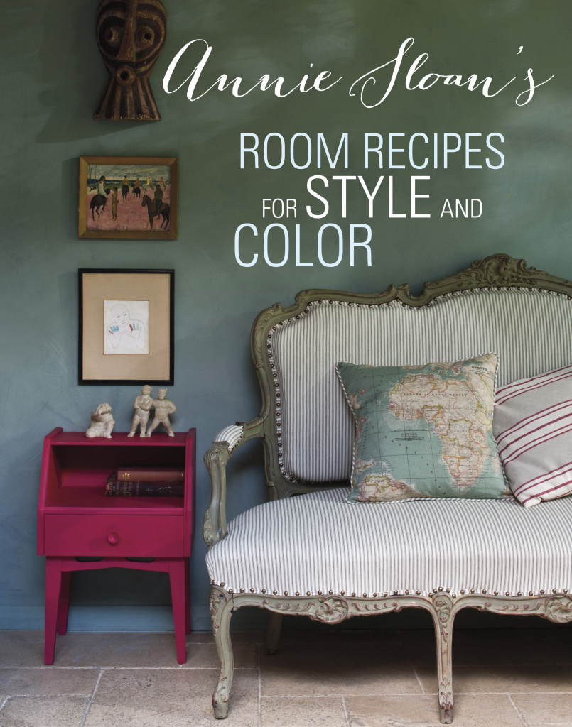 Annie Sloan's Room Recipes for Style and Color - giveaway April 14-20, 2015 at girlinthegarage.net (open to US and Canada) #sponsored