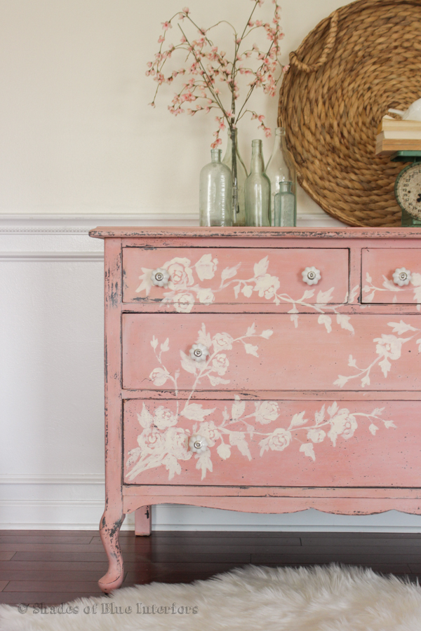 Shades of Blue Interiors - Dresser Makeover