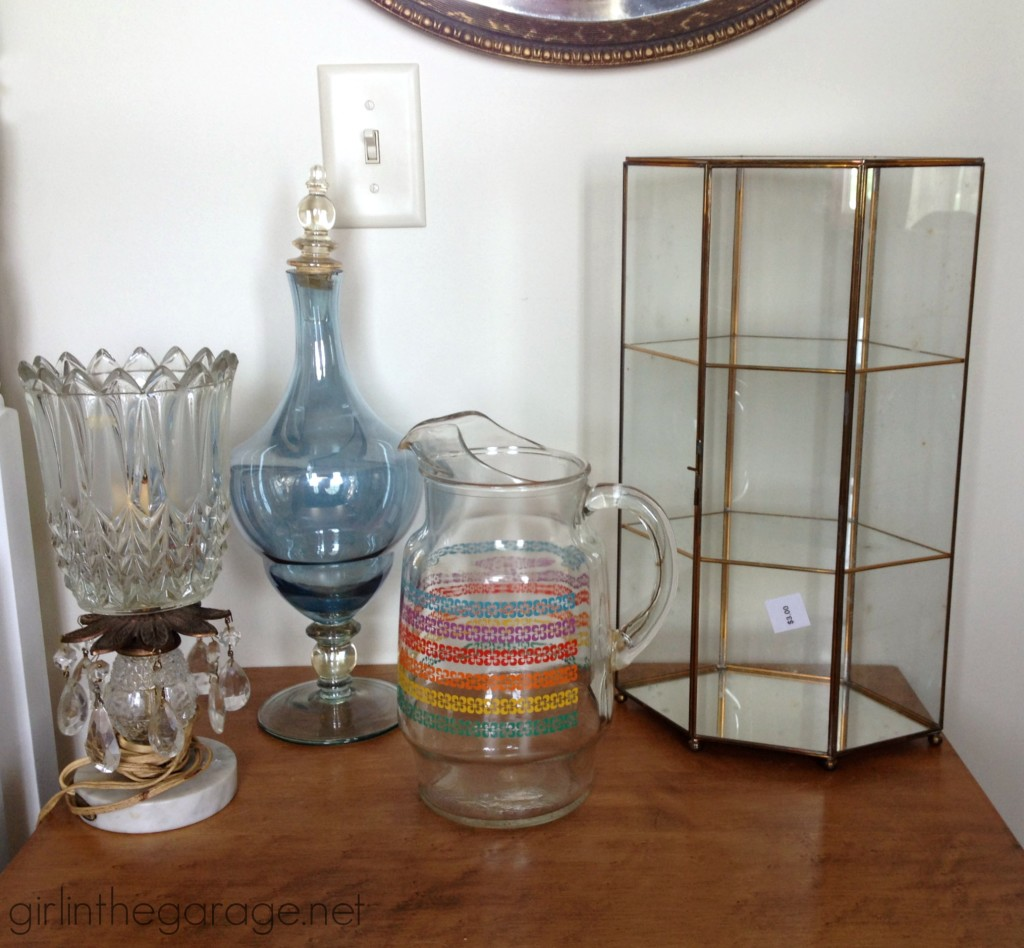 Treasure Hunting 12 - Awesome yard sale finds and thrifty treasures I've found lately.  girlinthegarage.net