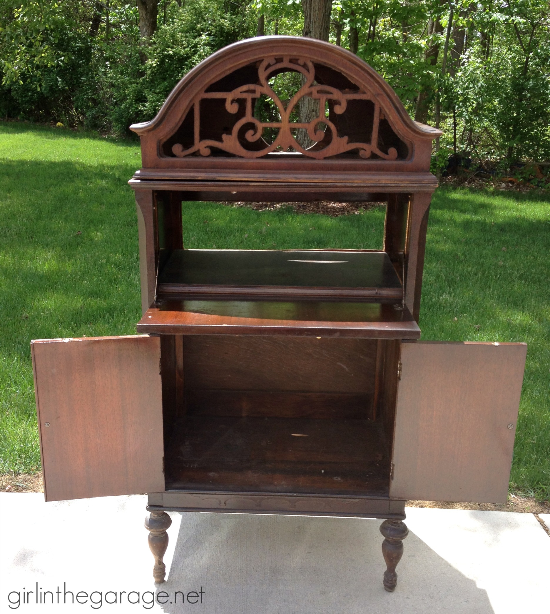 mid modern antique cabinet pin cabinets record century