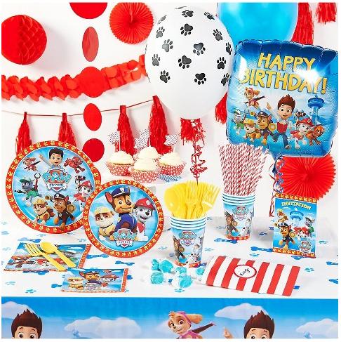 Paw Patrol birthday party decorations