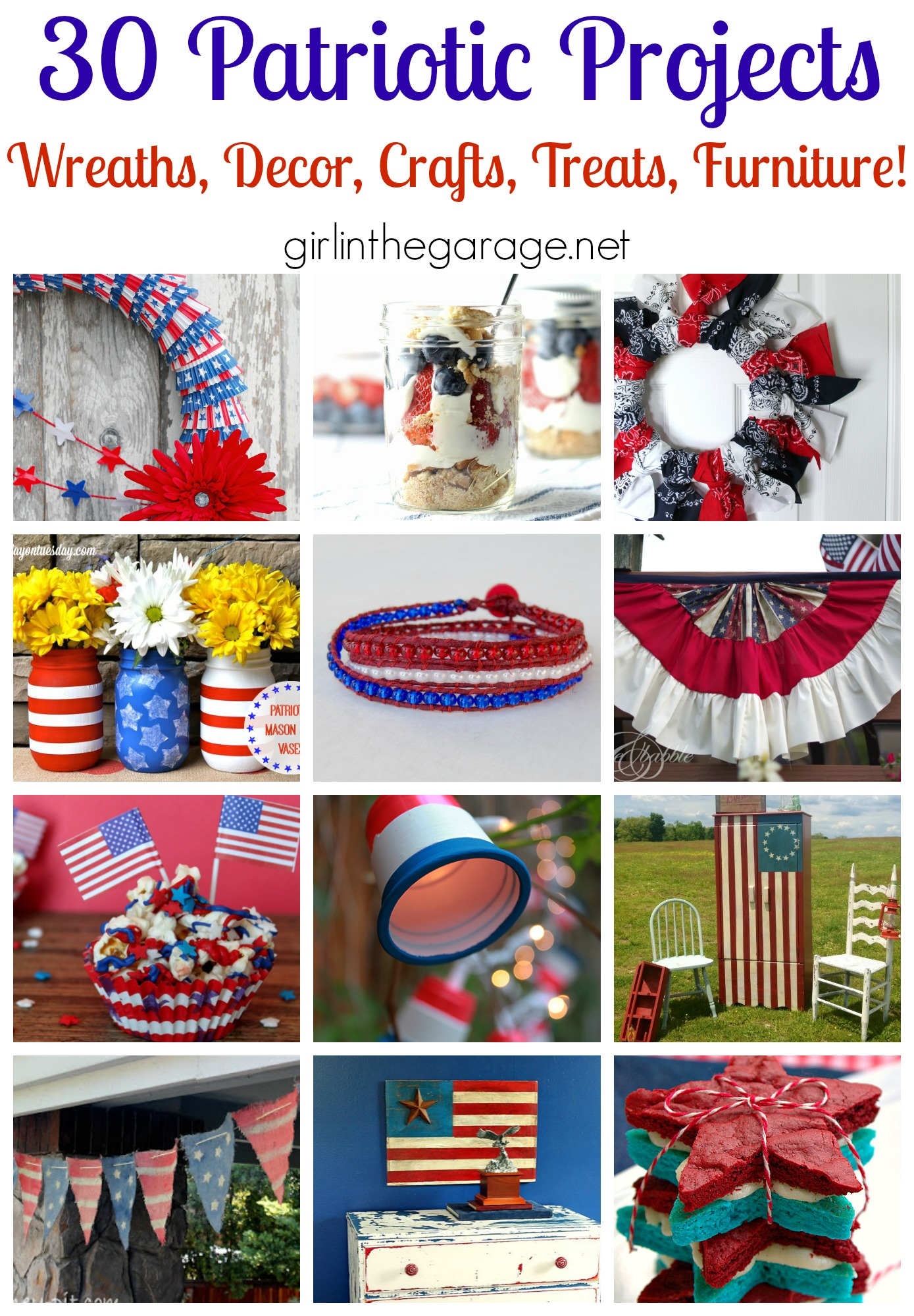 30 Patriotic Projects Girl In The Garage 174