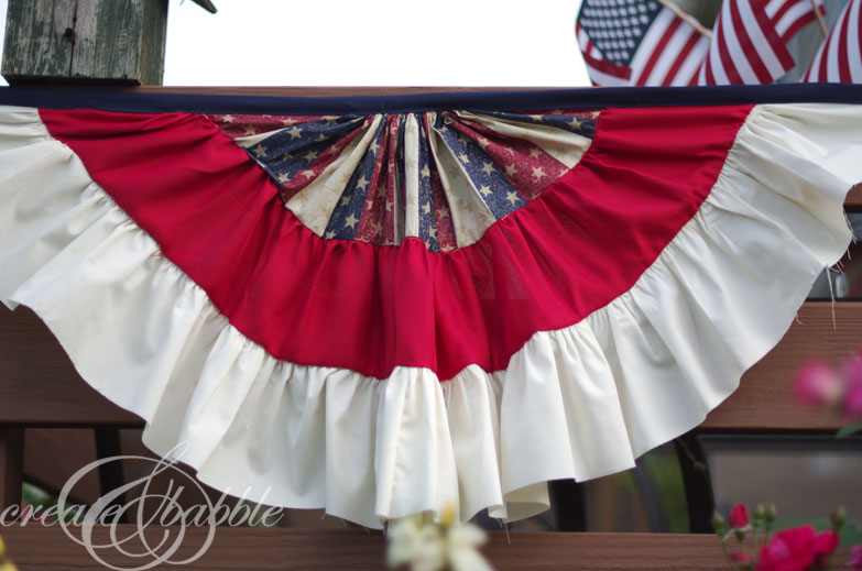 Patriotic Bunting - Create & Babble