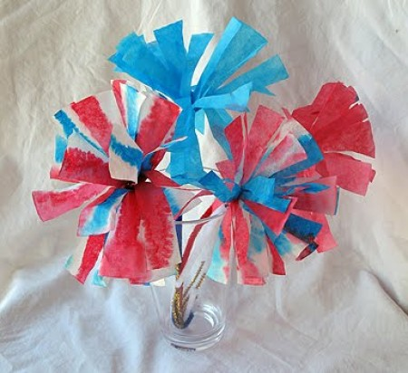 Coffee Filter Flowers - Crafts by Amanda