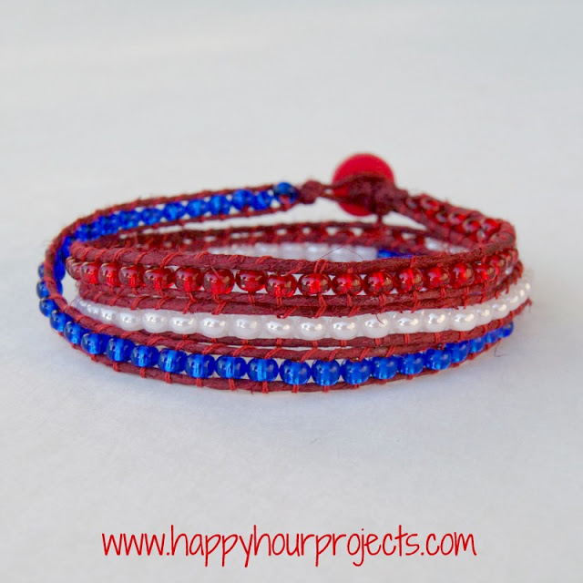 Wrap Bracelet - Happy Hour Projects