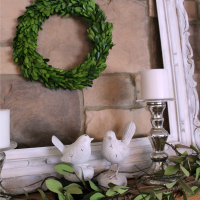 IMG_5364-summer-mantel-boxwood-wreath-frame-birds-FEAT