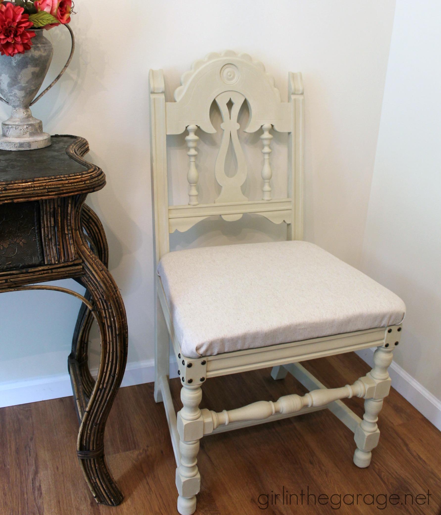 Vintage Chair Makeover Make under