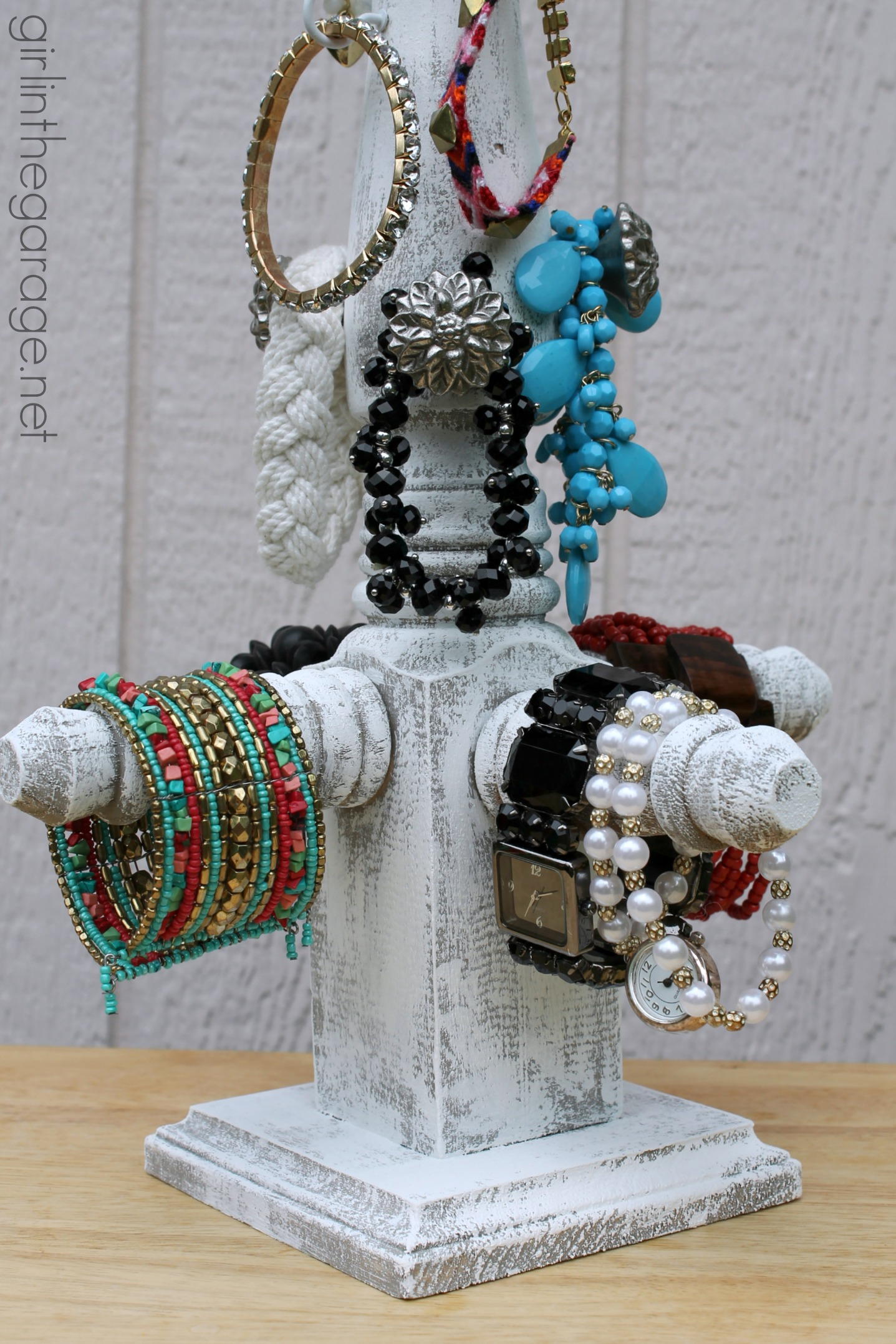DIY Bracelet Stand - Lowe's DIY Days | Girl in the Garage®