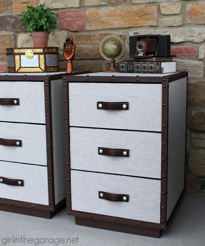 Pottery Barn Inspired DIY Trunk Tables - Girl in the Garage