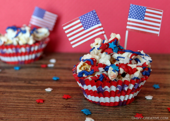 Patriotic Popcorn - Oh My! Creative