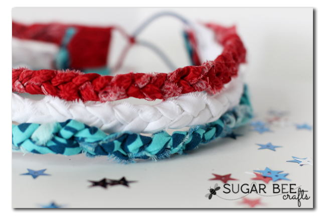 Braided Headband - Sugar Bee Crafts